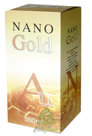 Crystal Nano Gold Coloid 500ml
