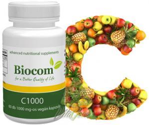 Biocom Vit C1000 Capsule 60buc