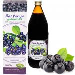 Suc de ARONIA ,SCORUŞĂ neagră 100 % Mannavita, 1000 ml