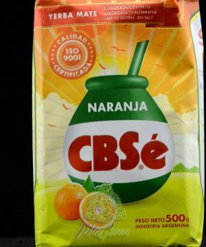 Ceai Mate cu aroma de portocale 500g