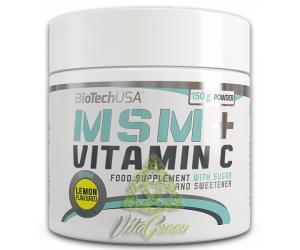 MSM + Vitamina C 150g